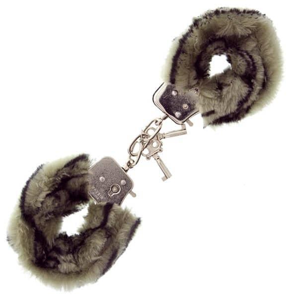 Furry Love Cuffs - Vit