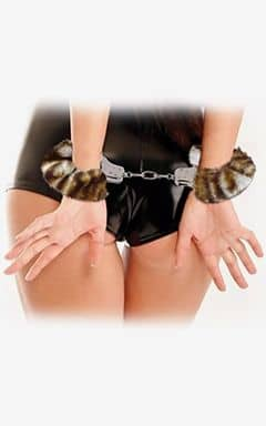 Pipedream Furry Love Cuffs - Tiger