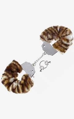 BDSM / Fetisch Furry Love Cuffs - Tiger
