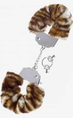 Handbojor & bindande Furry Love Cuffs - Tiger