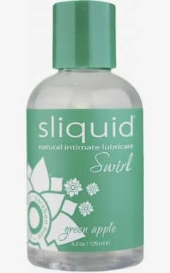 Smaksatta glidmedel Swirl Green Apple - 125 ml