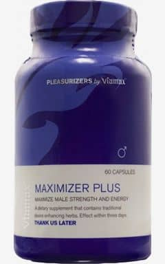 Lustökande Maximizer Plus - 60-pack