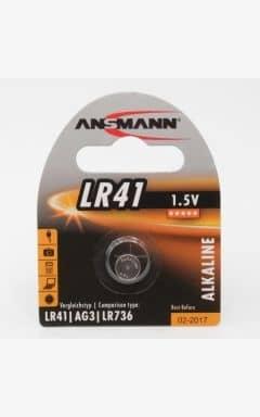 Batterier Batteri LR41