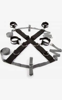 Handbojor & binda upp 50 Shades Over The Bed Cross Restraint