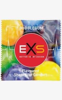 Kondomer Exs bubblegum rap