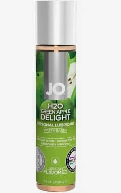 Glidmedel JO H2O Green Apple