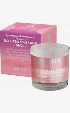 Alla Hjärtans Dag Dona scented massage candle  - flirty