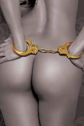 BDSM FF gold - cuffs