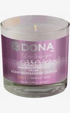 Scented massage candle - sassy