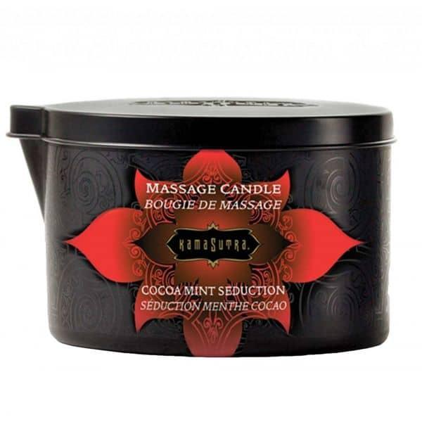 Kama Sutra Massage Candle Cocoa Mint