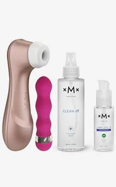 Lufttrycksvibratorer Satisfyer Kit - The next sexual revolution