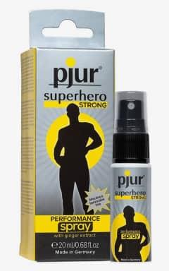 Fördröjningsspray Pjur Superhero Strong - 20 ml