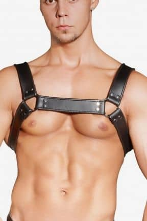 Rollspel Zado Leather Chest Harness
