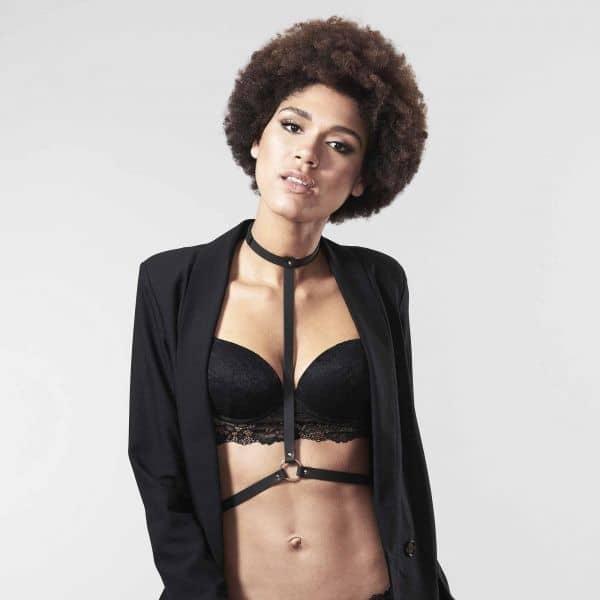Bijoux Indiscrets Maze I Harnesss Black