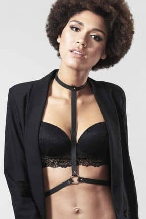 Rollspel Bijoux Indiscrets Maze I Harnesss Black