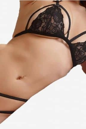 Bra & double waistband string L