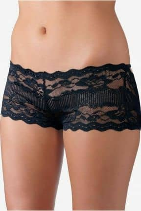 Trosor & String Open back lace panties