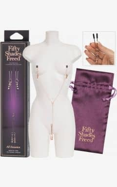 Nipple clamps & ticklers 50 Shades Freed All Sensation