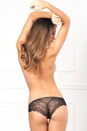 Sexiga kläder Crotchless Lace & Dots Panty