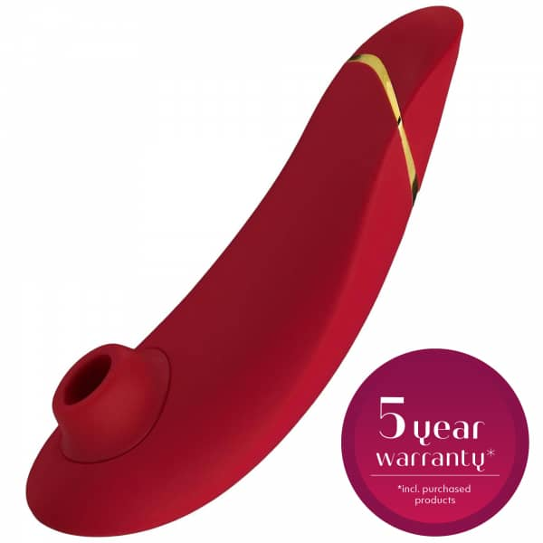 Womanizer Premium Red/Gold