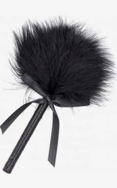 BDSM Feather Tickler Black