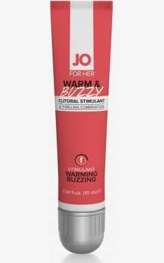 Lustökande System Jo - Clitoral Stimulant Warm and Buzzy 10ml