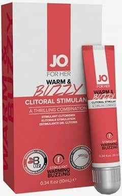Rida System Jo - Clitoral Stimulant Warm and Buzzy 10ml