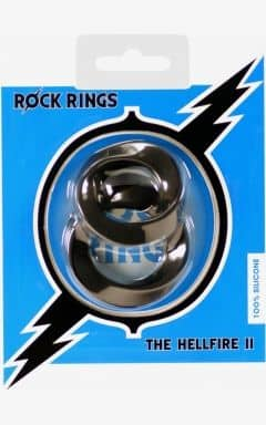 Kukringar utan vibrator The Hellfire 2 Pack