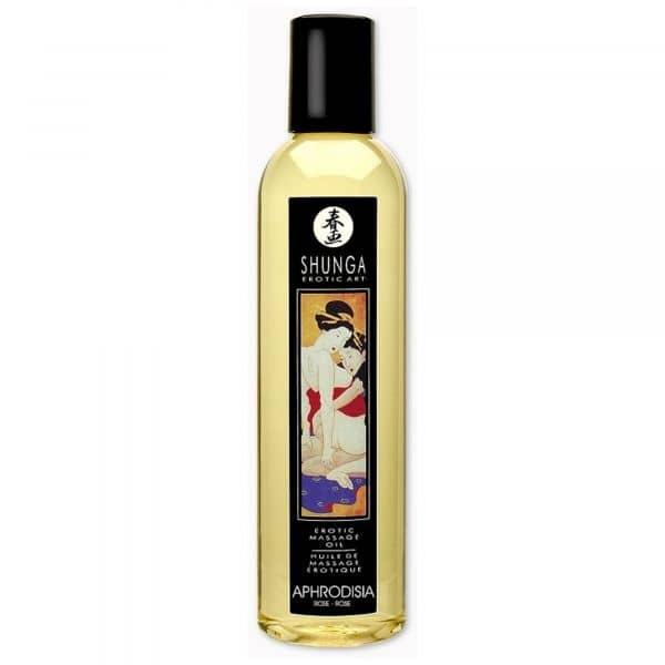 Shunga Massage Oil Aphrodisia (Rose)