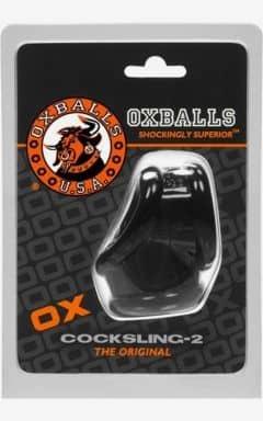 Kukringar utan vibrator Oxballs Cocksling 2