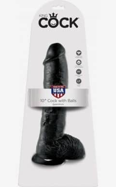 Klassiska dildos King Cock Cock With Balls 25 cm