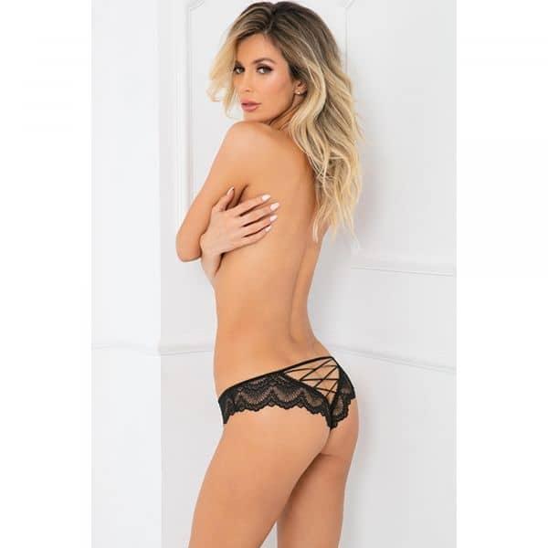 Come Undone Crotchless Panty M/L
