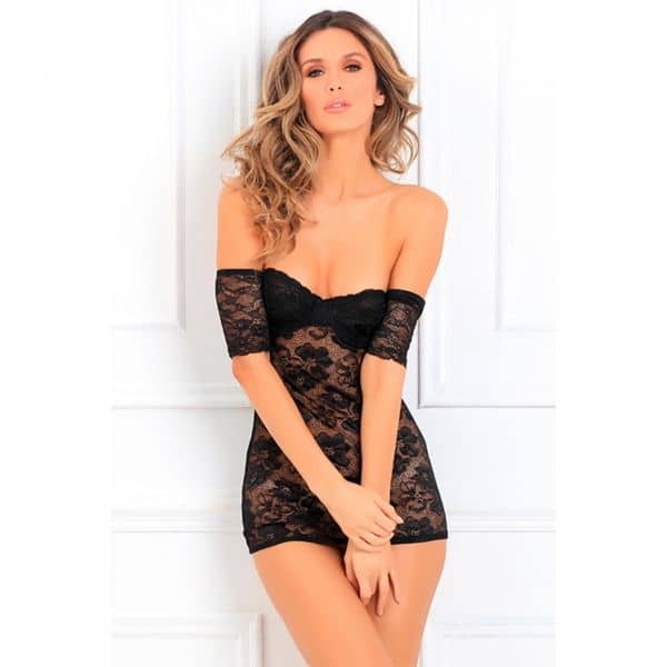 Seductively Stunning Lace Dress S/M