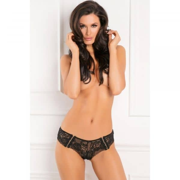 Hot Hook Ups Crotchless Panty S/M