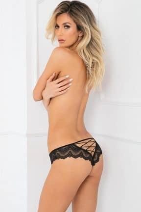 För henne Come Undone Crotchless Panty