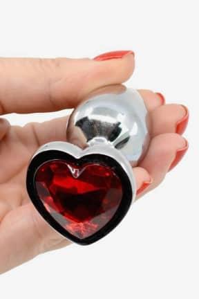 Buttplug Love Steel Plug with Crystal