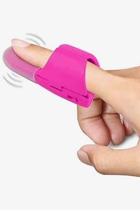För par Fuzu Finger Vibrator