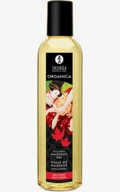 Apotek Shunga Massage Oil Organica Maple Delight 250ml