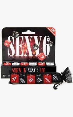 Sexspel Sexy 6 Dice Sex