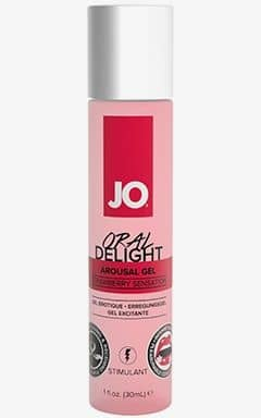 Smaksatta glidmedel System JO Oral Delight Strawberry