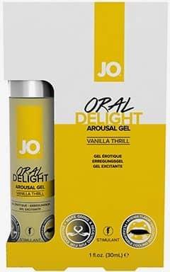 Lustökande & fördröjande System Jo Oral Delight Vanilla
