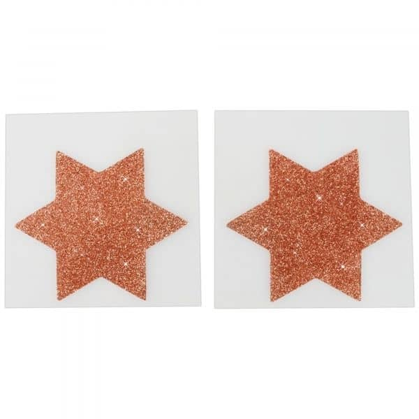 Nipple Sticker Star Copper