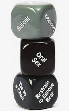 Sexleksaker Kinky Nights Dare Dice - Game