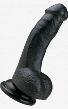 Dildos Realistic Dildo Black 15 cm