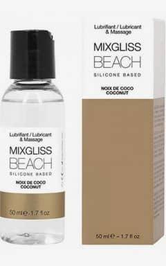 Glidmedel MIXGLISS Silicone Beach Coconut 50ml