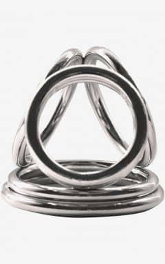 Kyskhetsbälten Cock Ring Steele Multi Trois