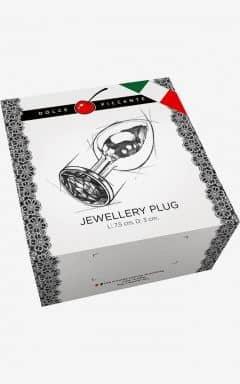Nyheter Jewellery S Gold/Purple 3 cm