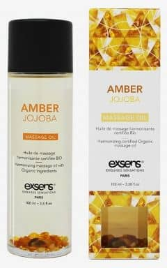 Massage Exsens - Organic Massage Oil w. Stones Jojoba