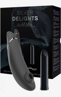 Minivibratorer Womanizer Silver Delights Collection