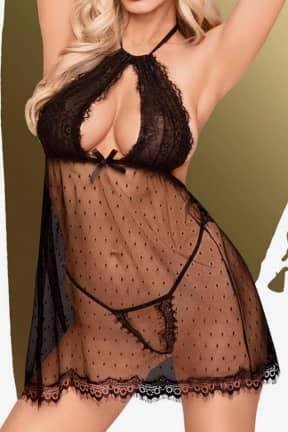 Sexiga Damunderkläder Penthouse Libido boost black L/XL